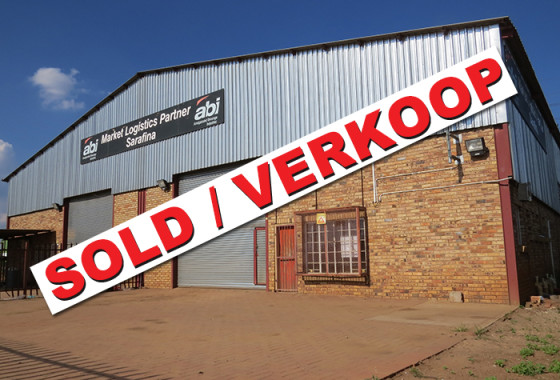 ROSS STR 120 POTCH INDUSTRIA GEBOU