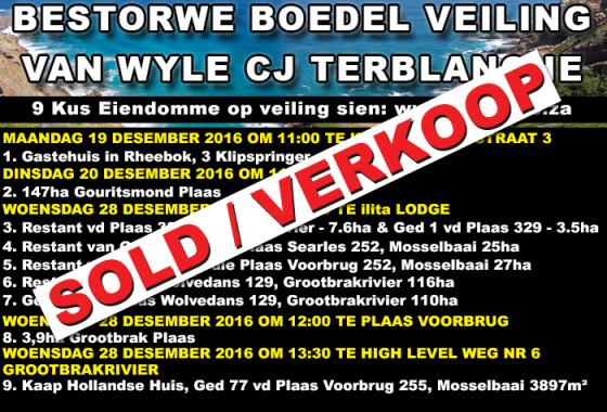 BESTORWE BOEDEL VAN WYLE CJ TERBLANCHE WEB BLOKKIE