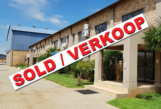1 - POTCH INDUSTRIA - SOLD BLOKKIE